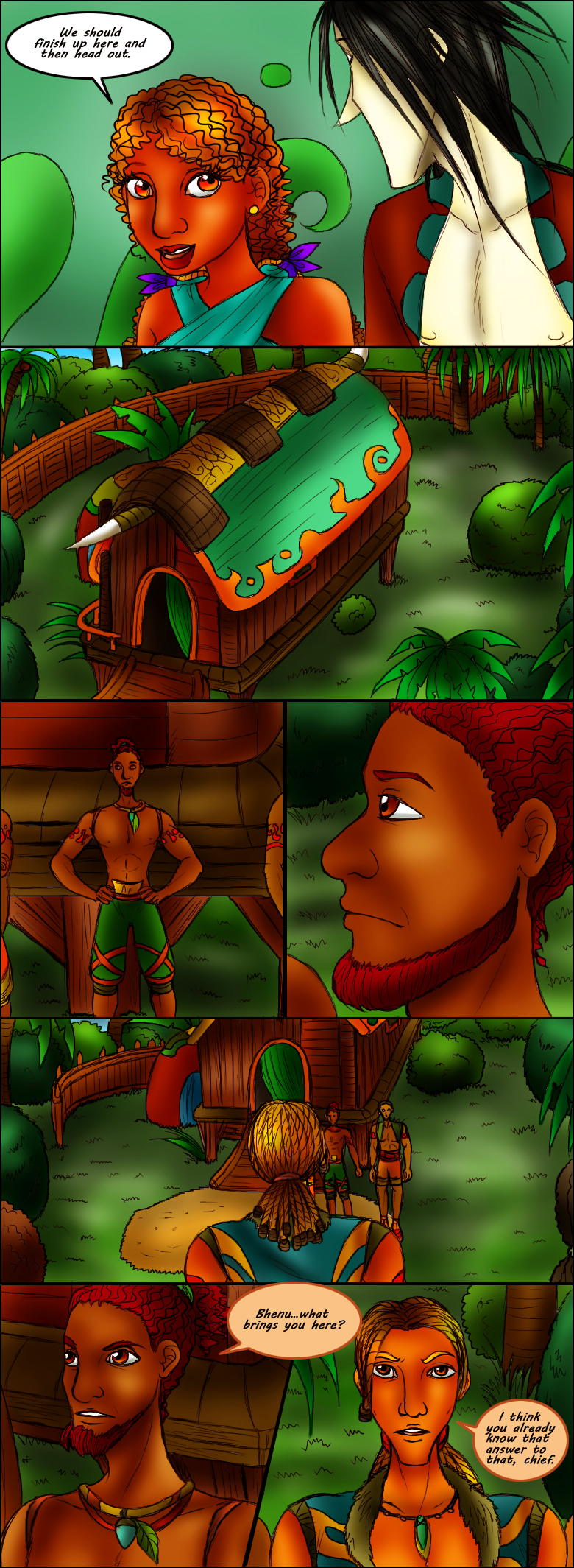 Page 91 – Meeting With The Chief Part 2