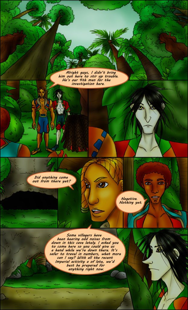 Cosmos Song Webcomic Page 203