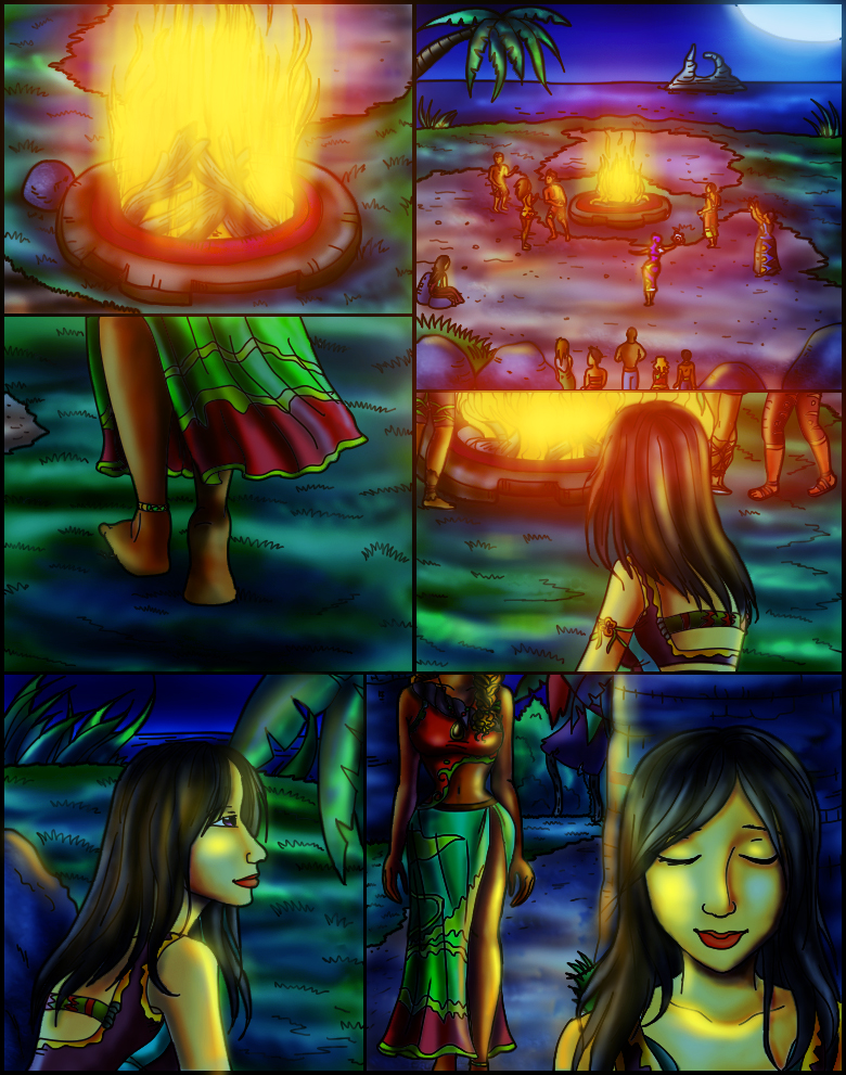 Page 3 – By the Light of the Bonfire