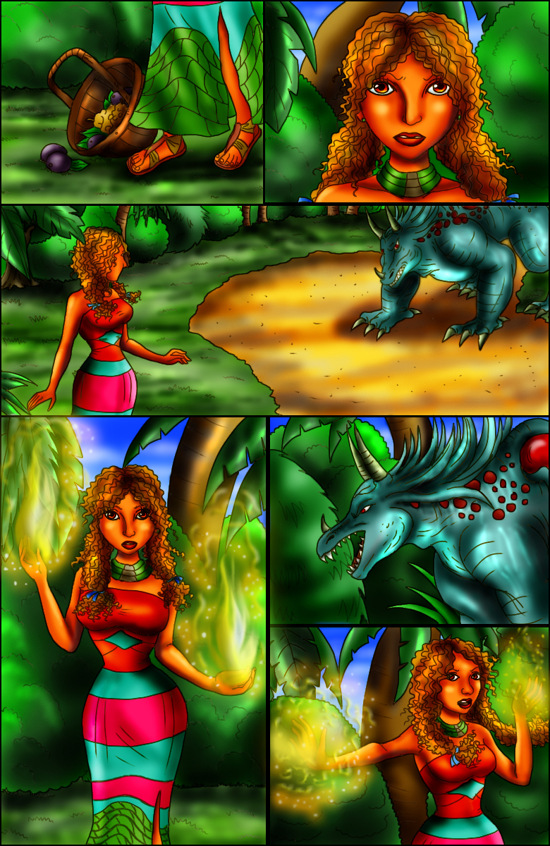 Page 9 – The Earthen Sorceress
