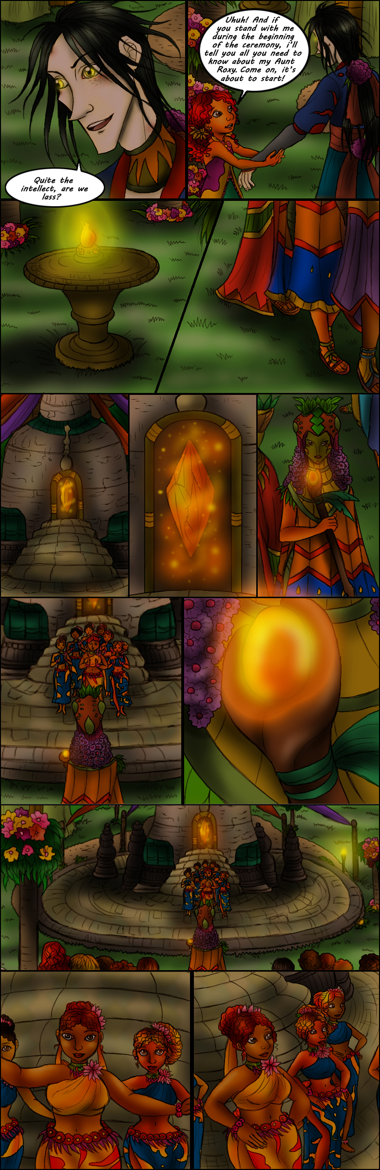 Page 67 – The Cosmos Ceremony Part 2