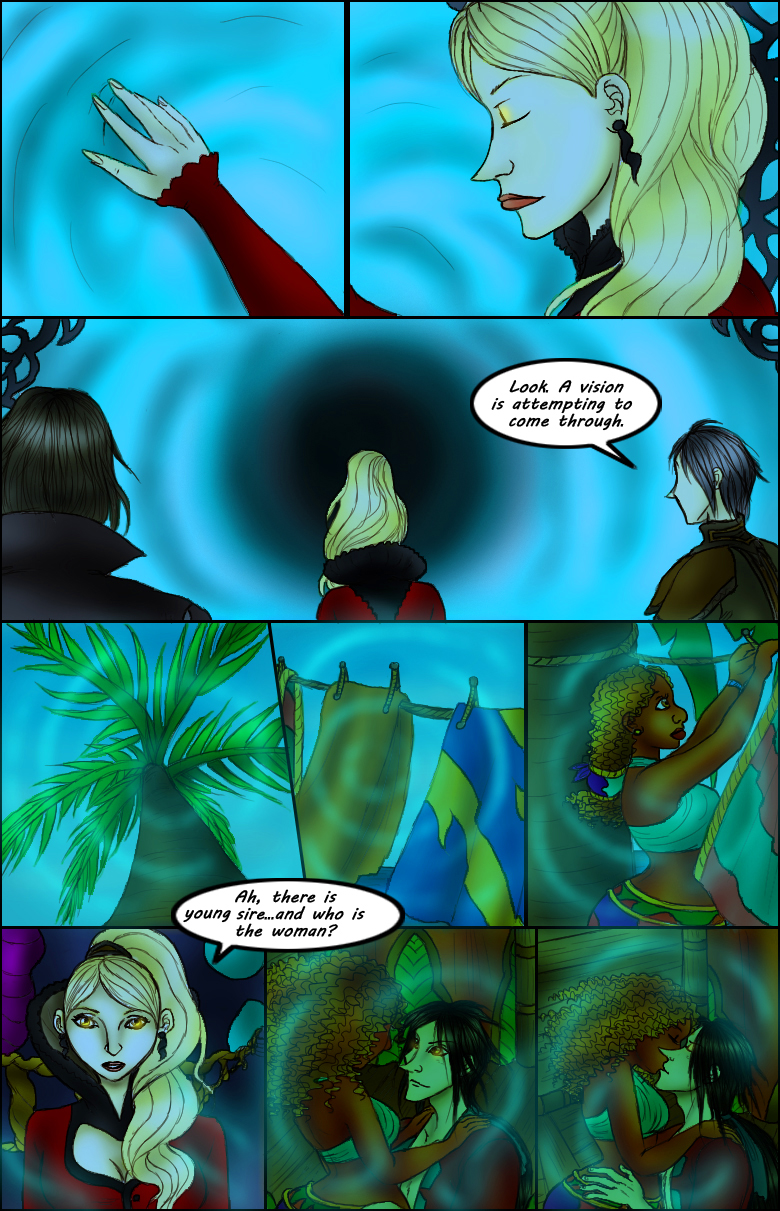 Page 121 – Looking In