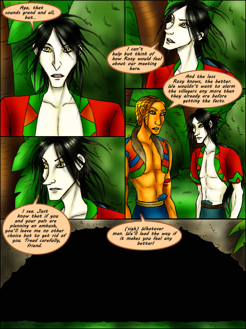 Page 204 – In To The Cave