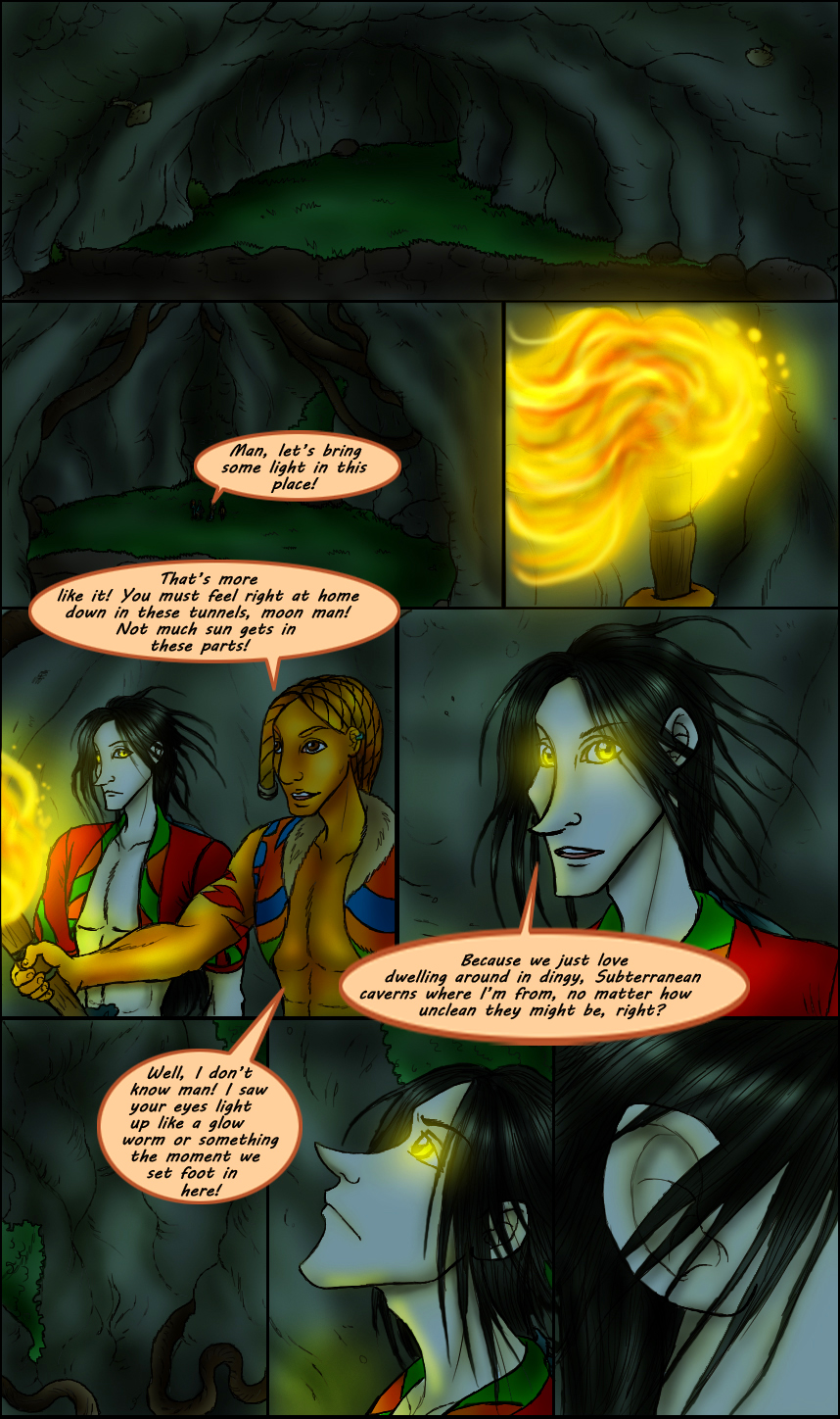 Page 205 – In To The Cave part 2