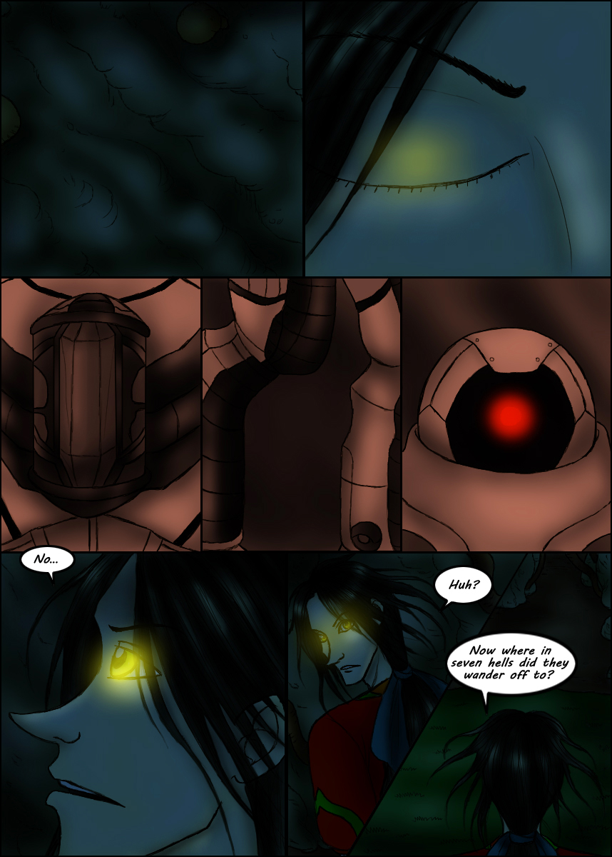 Page 206 – In To The Cave part 3