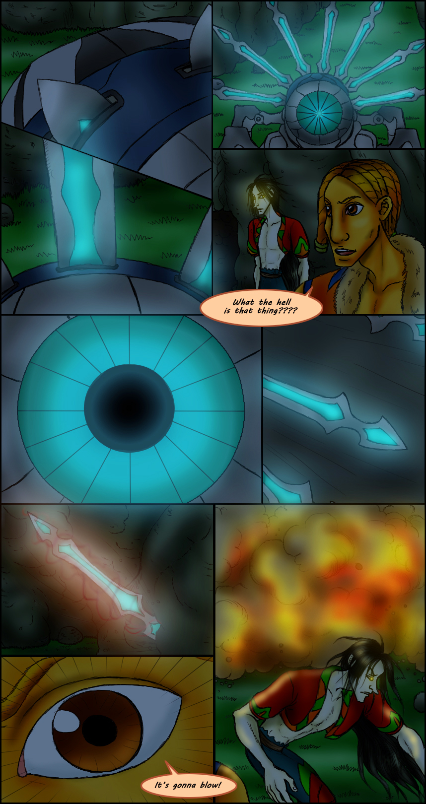 Page 210 – Blasted Automatons part 4