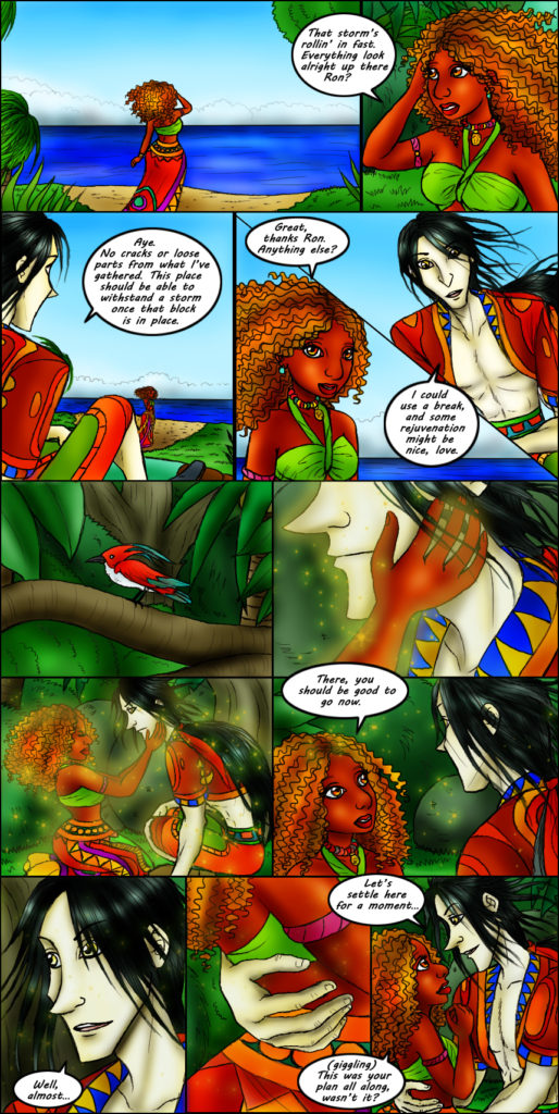 cosmos song page 231 - Romance Webcomic