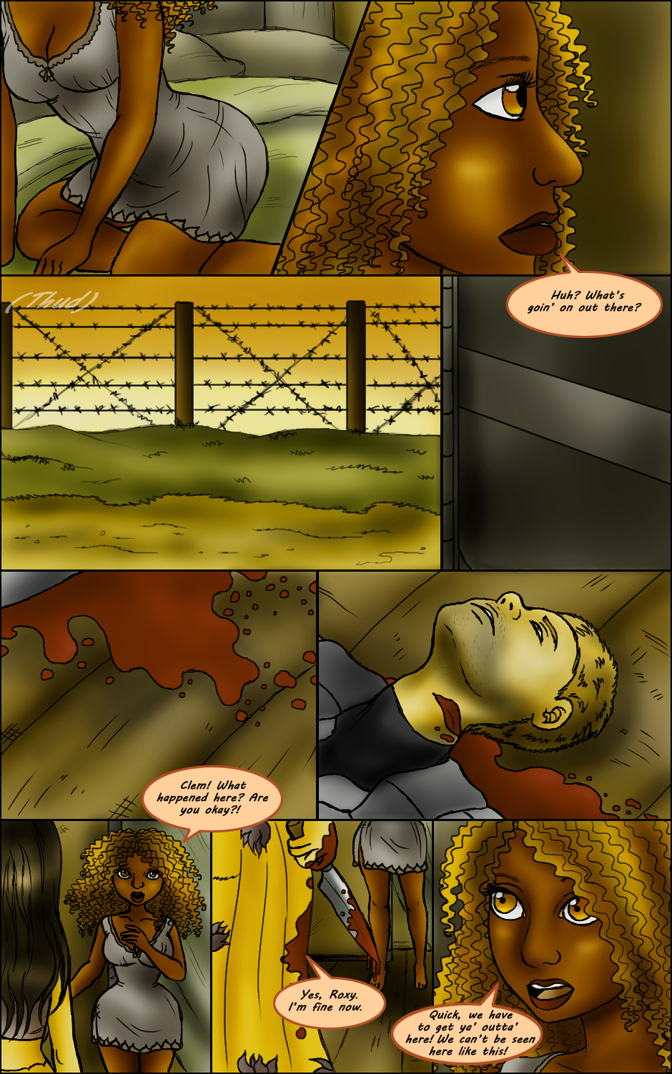 Page 260 – Painful Dreams Part 2